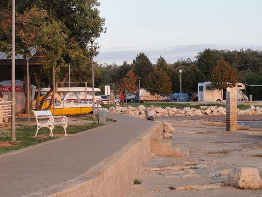 Campingplatz südlich von Umag