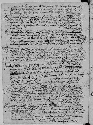 XVIIIe siècle : Grandsaigne et Sambucy - Commune de Montclar
