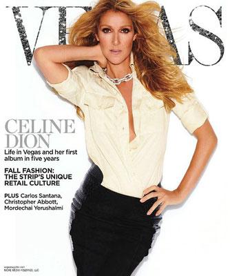 Céline Dion - Couverture Vegas Magazine  [USA] (Septembre 2012)