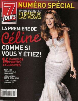Céline Dion - Couverture 7 Jours Magazine [Canada] (25 Mars 2011)