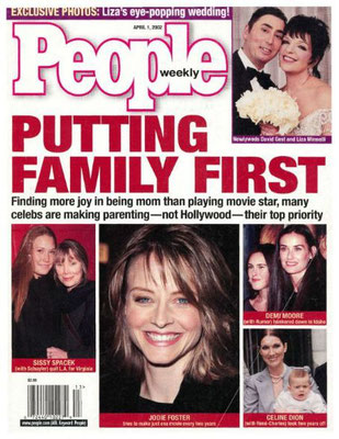 Jodie Foster - People Magazine [USA] (1 Avril 2002)