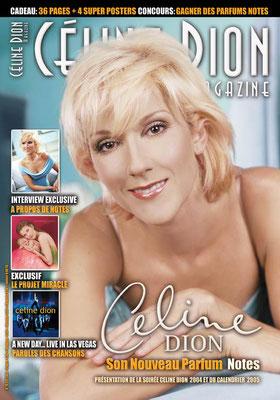 Céline Dion - Couverture Céline Dion Magazine [France] n°