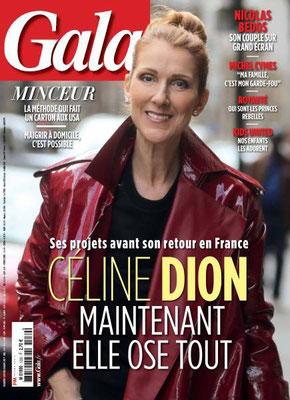 Celine Dion - Couverture Gala Magazine [France] (8 Mars 2017)