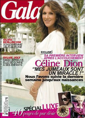 Celine Dion - Couverture Gala Magazine [France] (27 Octobre 2010)