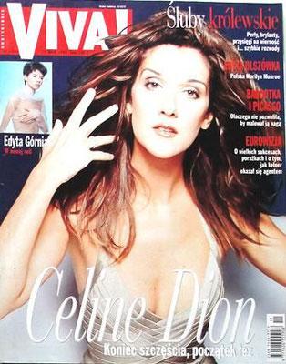 Céline Dion - Couverture VIVA Magazine [Pologne] (24 Mai 1999)