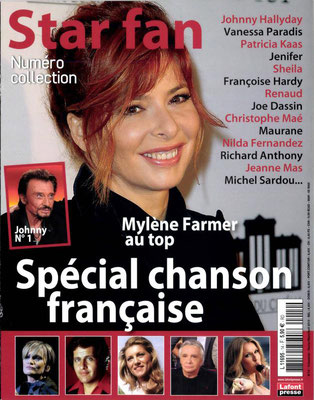 Mylene Farmer, Céline Dion - Couverture Star Fan Magazine [France] (Février - Mars - Avril 2013)