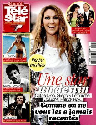 Céline Dion - Couverture Hors-Série Télé Star Magazine [France] (20 Octobre 2016)
