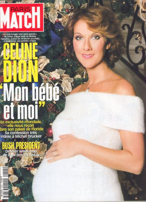 Celine Dion - Couverture Paris Match Magazine [France] (22 Avril 1999)