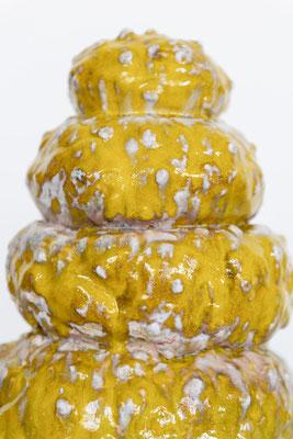 Nippletower (2018) ceramics, glaze, 41x46cm