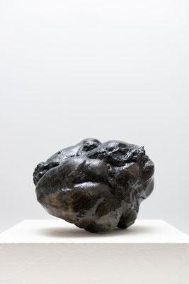 Heart, ceramics, glaze, 41x35cm