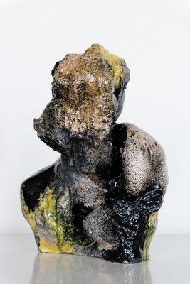 Ambiguous Existence#3  ceramics, glaze, 60x46x33cm