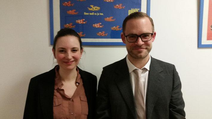 Dr. Maren Jasper-Winter & Justus Leonhardt