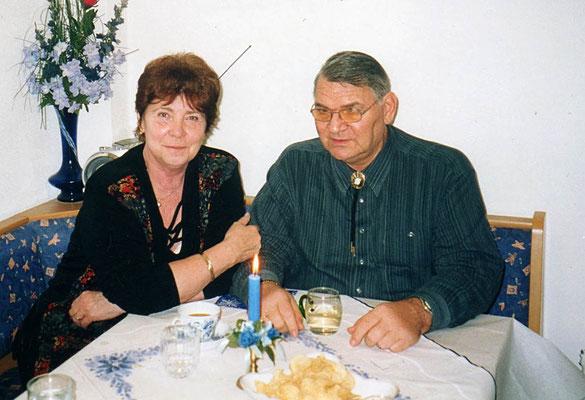 Hedy mit ihrem Mann Gerhard