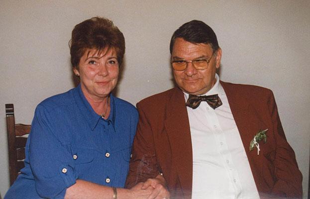 Hedy mit ihrem Mann Gerhard 1997