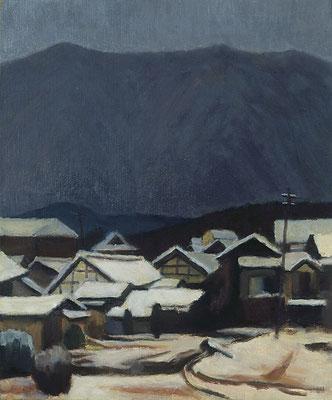 雪の宮町 1961年