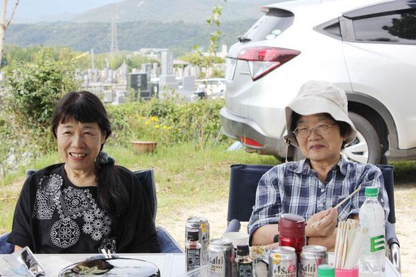惠美子さんと治美さん
