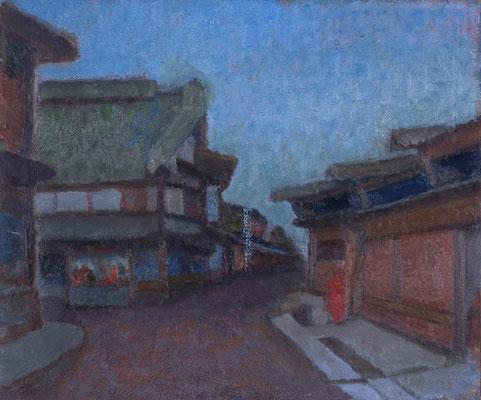 本町  1950年〜 以降描き続けていました