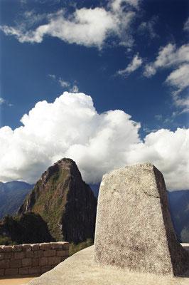 マチュピチュ、インティワタナ。太陽を繋ぎとめる石、日時計として使われていたらしい