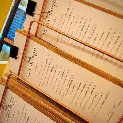 Carta de Barra para Gastro Bar La Trasiega de Getafe
