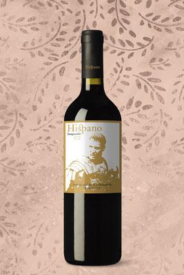 Propuesta de etiqueta de vino en venta: Hispano
