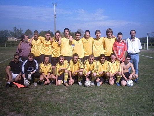 Moins de 18 ans - Saison 2005/2006