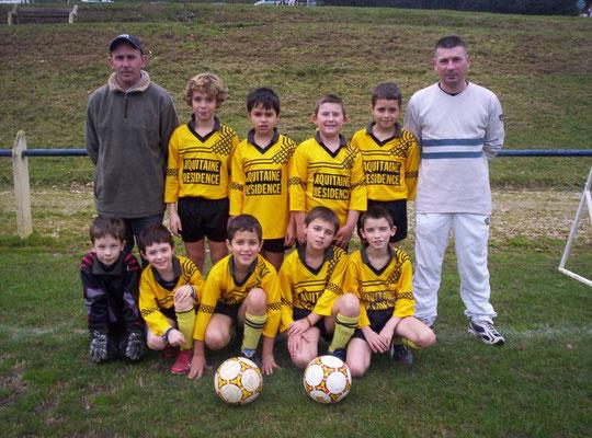 Poussins - Saison 2006/2007