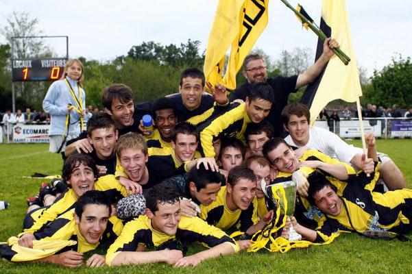 18 ans vainqueurs de la coupe du sauternais