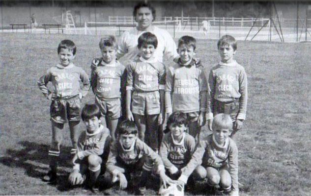 Débutants - Saison 1986/1987
