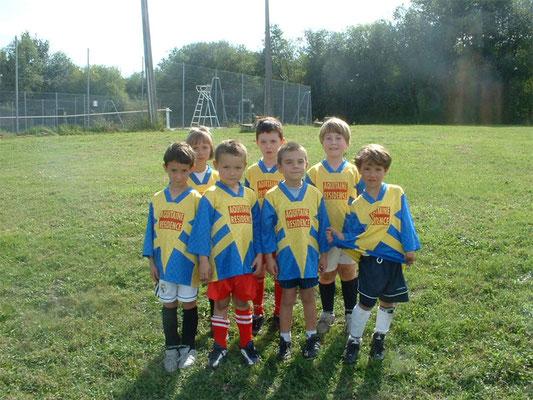 Débutants - Saison 2005/2006