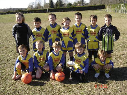Débutants - Saison 2007/2008