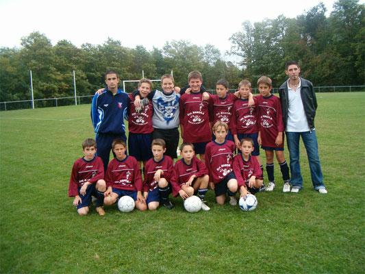 Moins de 13 ans - Saison 2005/2006