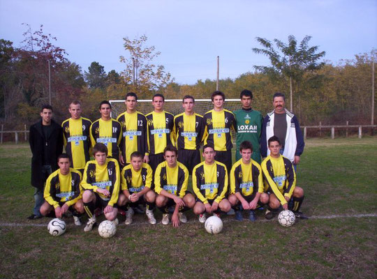 Moins de 18 ans - Saison 2006/2007