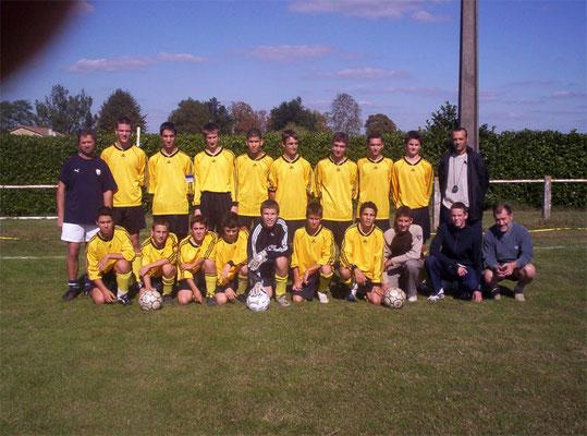 Moins de 18 ans - Saison 2004/2005