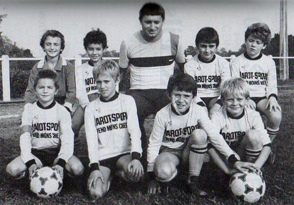 Poussins A - Saison 1985/1986