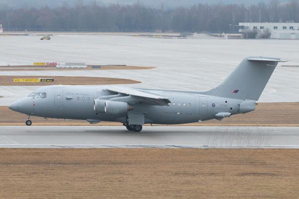 BAE 146 als Regierungsmaschine der Engländer