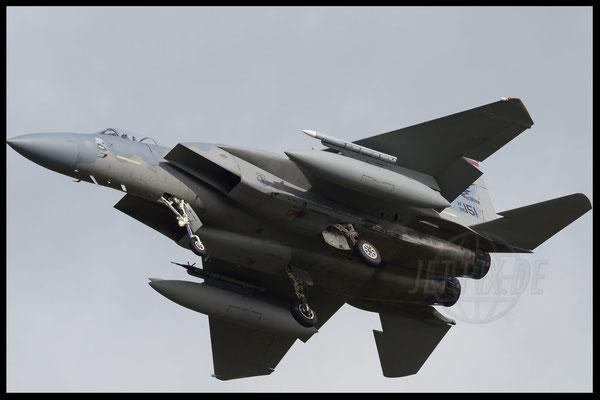 F15 zeigt Bauch bei Frisian Flag