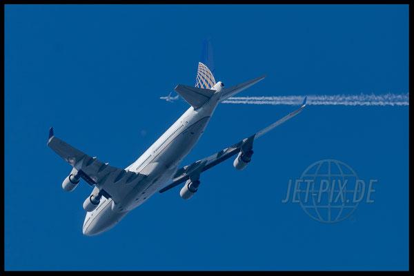 N174UA United Airlines Boeing 747-400 2017 06 14 Richtung Frankfurt