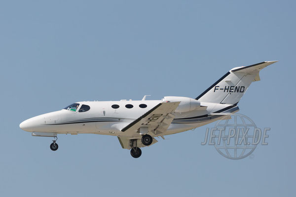 F-HEND Private Cessna 510 Citation Mustang 2017 04 29 ZRH