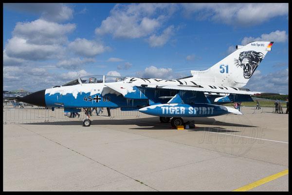 Tornado Deutschland Arctic Tiger Nato Blue Sky Geilenkirchen