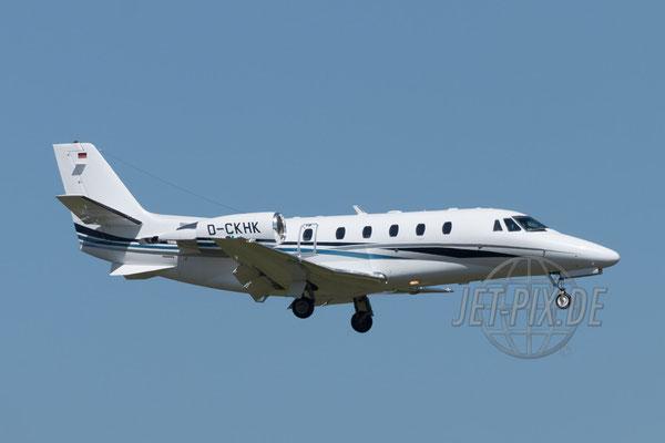 D-CKHK Stuttgarter Flugdienst Cessna 560XL Citation XLS 2017 04 29 ZRH