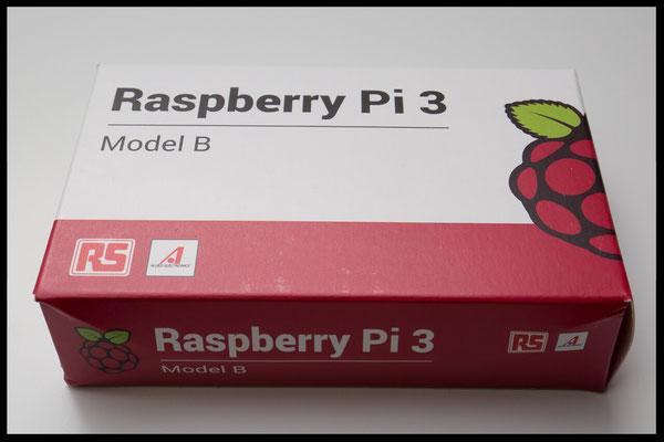 Raspberry Pi 3 Verpackung Eigenbauprojekt / jetzt kann es endlich losgehen / auspacken