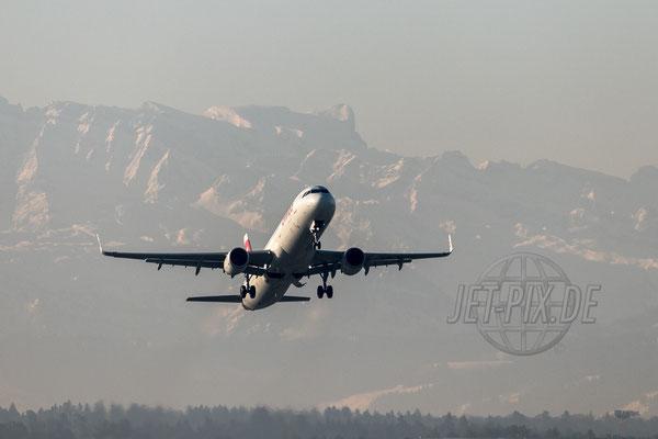 SWISS Airbus A321 2017 04 30 ZRH