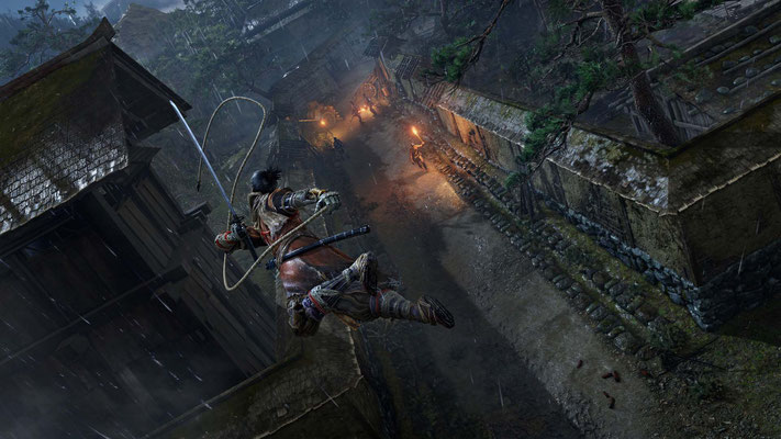 Screenshot von Sekiro: Shadows Die Twice - Quelle: https://www.sekirothegame.com/