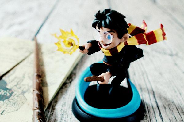 Sammelfigur Harry Potters erster Flug - auf Standfuß