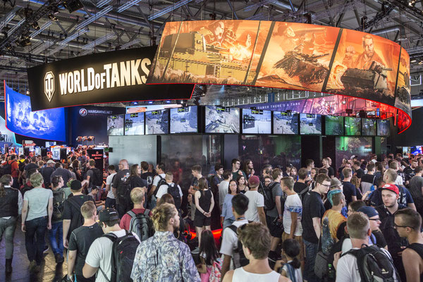 Wargaming: World of Tanks - Quelle: http://www.gamescom.de/