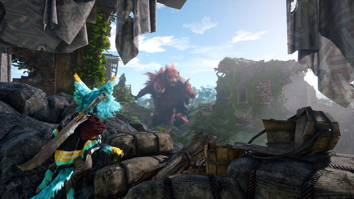 Screenshot aus Biomutant - Quelle: https://biomutant.com/de/