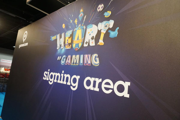 Signing Area - Quelle: https://www.facebook.com/gamescom.cologne/