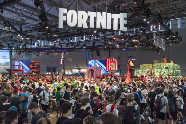 Epic Games: Fortnite - Quelle: http://www.gamescom.de/