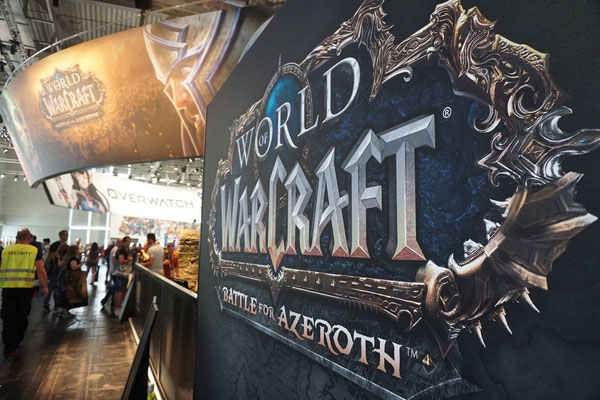 Der Bereich von WoW: Battle of Azeroth - Quelle: https://www.facebook.com/pg/gamescom.cologne/