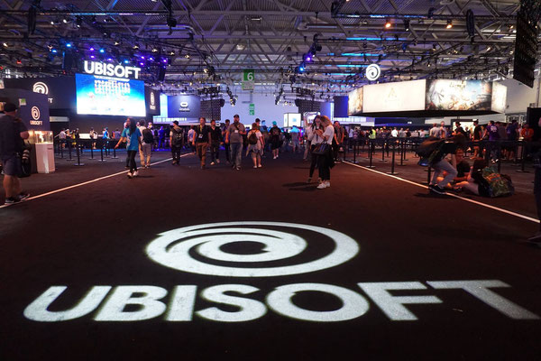 Weg zu Ubisoft - Quelle: https://www.facebook.com/pg/gamescom.cologne/